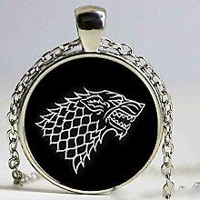 Game of Thrones Halskette aus Glas von House of