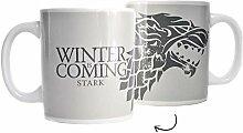 Game of Thrones Haus Stark Kaffeebecher - Tasse