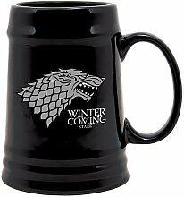 Game of Thrones Stark Wappen Bier Krug mit