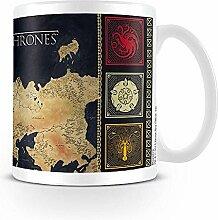 Game of Thrones Tasse - Map