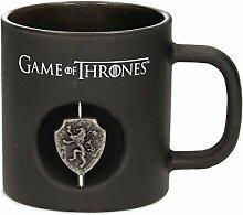 Game of Thrones Tasse mit Lannister 3D-Logo aus