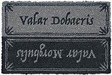 Game of Thrones Valar Morghulis Fußmatte