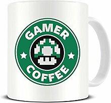 Gamer Coffee – Super Mario – Starbucks –