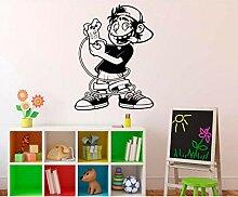 Gamer Wandaufkleber Cartoon Wohnkultur