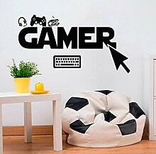 Gamer Wandaufkleber Wählen Klicken Controller