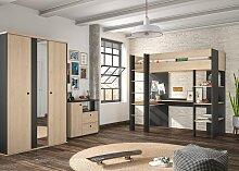 Gami Jugendzimmer-Set Duplex, (3 St.)