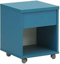 Gami Mobile Einheit, Holz, Weiß/Blau, 36x 36x