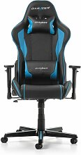 Gaming-Stuhl Formula DXRacer Farbe: Schwarz/Blau