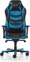 Gaming-Stuhl Iron DXRacer Farbe: Schwarz/Blau
