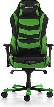 Gaming-Stuhl Iron DXRacer Farbe: Schwarz/Grün