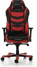 Gaming-Stuhl Iron DXRacer Farbe: Schwarz/Rot