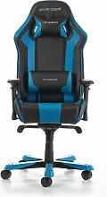Gaming-Stuhl King DXRacer Farbe: Schwarz/Blau