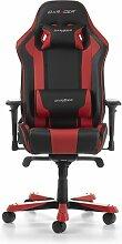 Gaming-Stuhl King DXRacer Farbe: Schwarz/Rot