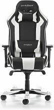 Gaming-Stuhl King DXRacer Farbe: Schwarz/Weiß