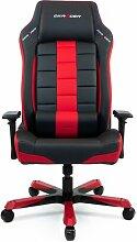 Gaming-Stuhl OH-BF120 DXRacer Farbe: Rot/Schwarz