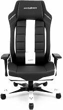 Gaming-Stuhl OH-BF120 DXRacer Farbe: Weiß/Schwarz