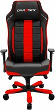 Gaming-Stuhl OH-CE120 DXRacer Farbe: Rot/Schwarz