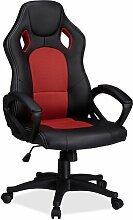 Gaming-Stuhl XR9 ClearAmbient Farbe (Polster): Rot