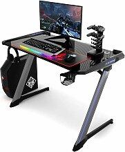 Gaming Tisch mit RGB-Led, Computertisch
