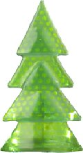 Gammelgaard Glas Weihnachtsbaum  Teelichthalter
