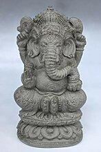 Ganesha Figur aus Steinguss (38cm) hinduistischer