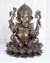 Ganesha Figur Hindu Gottheit Lotusblüte