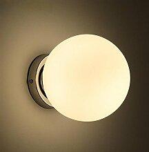 Gang Korridor Balkon Treppenhaus Glaskugel Deckenleuchte Lampe Beleuchtung ( größe : 30cm )