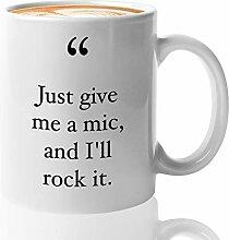 Gangsta Rap Kaffeetasse 450 ml – I'm Rock It