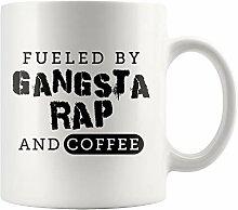 Gangsta Rap und Kaffee Tasse Gangsta Rap Tasse