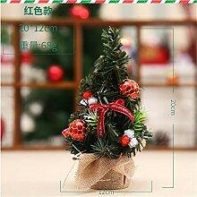 ganjue Mini Weihnachtsbaum Kleiner Weihnachtsbaum