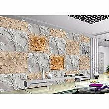 Ganjue Tapete 3D Wandbilder Für Wohnzimmer Relief