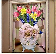 Ganjue Tapete 3D Wandbilder Für Wohnzimmer Tulip