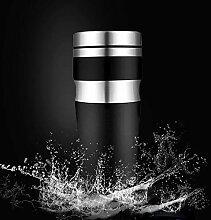 GANSHUIHE 430 ml doppelt isolierte Edelstahlschale