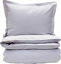 GANT Home SATEEN Bettdeckenbezug 135x200 light grey