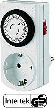 GAO Mechanische Mini-Zeitschaltuhr Intertek/GS-Zeichen