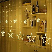 Gaocunh LED Lichtervorhang Sterne