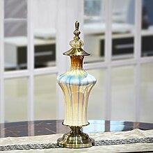 GAODUZI Kreative neoklassische chinesische keramik vase hause wohnzimmer weinschrank tv schrank dekoration ( design : C )