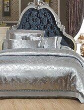 GAOHAIFQ®, vierteilige Anzug, Tage Vollhohl Baumwolle Jacquard 4 Stück Hochzeitssuite 1.5m-1.8m Bett / 2.0m Bett Bettwäsche Set , queen