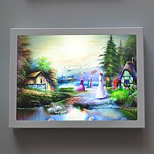 GaoHX Continental Pastorale Led Lampe Lampe Am Bett Dekorative Treppe Kinderzimmer Wandleuchte