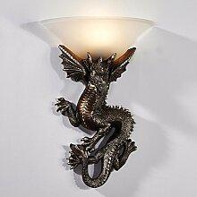 GaoHX Light Europäischen Stil Lampe Schlichte Leuchte Schlafzimmer Den Gang Wandleuchten Wand Lampen,A