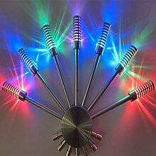 GaoHX Light Led Lampe Wand Lichtfarbe Schlafzimmer Lichtleiste Gang Wandleuchten Hintergrund Dekorative Wandleuchten,A