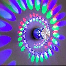 GaoHX Light Led Wandleuchte Lampe Gang Hintergrund Lichtleiste Hotel Wall Wandleuchte,Farbe