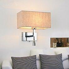 GaoHX Moderne, Minimalistische Mode Kreative Wand Lampe Nachttischlampe Schlafzimmer Warmen Gang Flurlampe,A