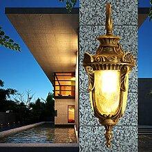 GaoHX Wandleuchte Kreativen Stil Schlafzimmer Wand Lampe Indoor Wandleuchten Korridor Wandleuchte?Einzelne Lampe/Zwei Lampen