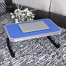 GAOLILI Laptop-Tisch auf dem Tisch mit dem Tisch zu bewegen die faltende einfache Lern-Schreibtisch Schreibtisch Lazy Dormitory Student Lern-Tabelle Kleine Tabelle Einfache Bett-Tabelle Erhöhen Sie den Desktop Großraum stark ( größe : Große )