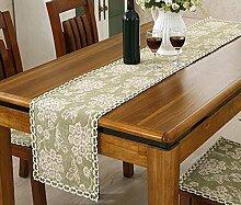 GAOYUHUA GY&H Klassische nationale Windhand - gewebte Tabelle Läufer Couchtisch, Bettdekoration Baumwolle Läufer Hochzeitsfeier Tischdekorationen,F,30*110CM