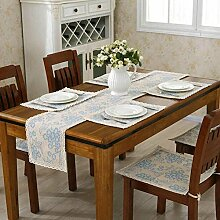 GAOYUHUA GY&H Klassische nationale Windhand - gewebte Tabelle Läufer Couchtisch, Bettdekoration Baumwolle Läufer Hochzeitsfeier Tischdekorationen,D,30*110CM