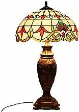 GAOYUN Tiffany-Stil Tischlampe Barock-Lampe