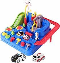 Garage Auto Kinder, Spielzeugbahn für Kinder 4 5