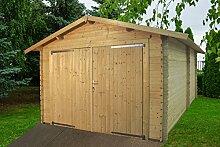 Garage ECO–Box Auto aus Holz Garten Gartenpro Stahlgerätehaus